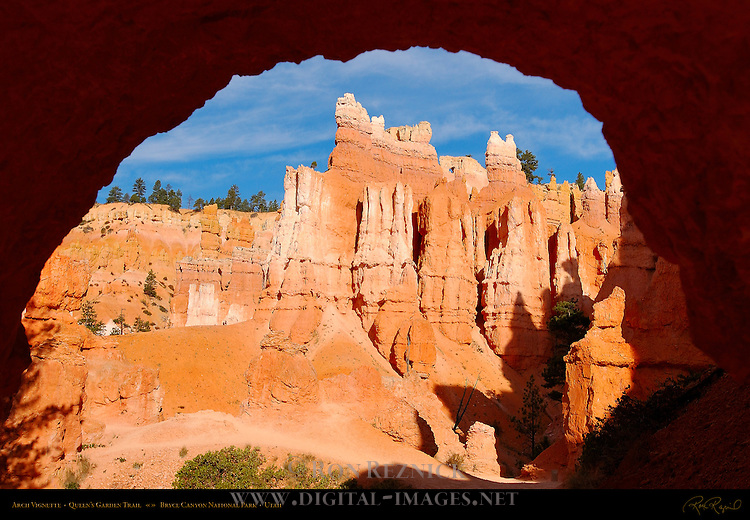 Arch Vignette, Queen's Garden Trail, Bryce Canyon National Park, Utah