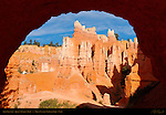 Arch Vignette, Queen's Garden Trail, Bryce Canyon National Park, Utah