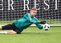 Torwart Bernd Leno (Deutschland Germany) - 24.05.2018: Training der Deutschen Nationalmannschaft zur WM-Vorbereitung in der Sportzone Rungg in Eppan/Südtirol