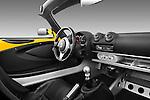 Passenger side dashboard view of a 2009 Lotus Elise SC 2 Door Convertible.