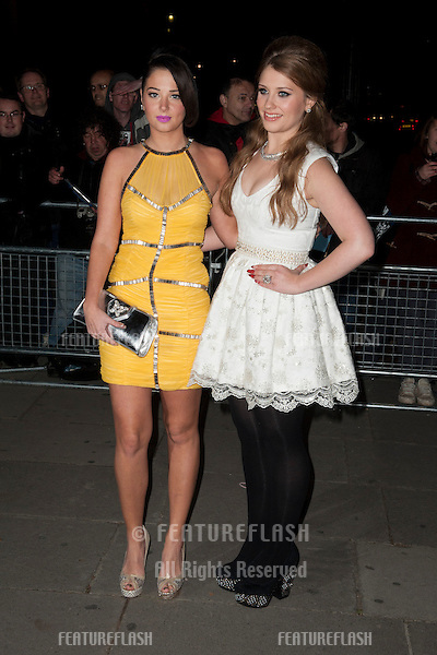 Tulisa and Ella Henderson arriving for the Cosmopolitan Ultimate Women of the Year Awards , Victoria & Albert Museum, London. 30/10/2012 Picture by: Simon Burchell / Featureflash