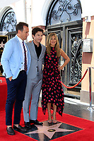 LOS ANGELES - July 26:  Will Arnett, Jason Bateman, Jennifer Aniston at the Jason Bateman Hollywood Walk of Fame Star Ceremony at the Walk of Fame on July 26, 2017 in Hollywood, CA