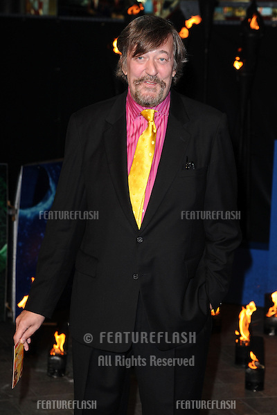 "Stephen Fry arriving for the ""Life of Pi"" premiere at the Empire, Leicester Square, London. 03/12/2012 Picture by: Steve Vas / Featureflash"