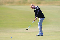 Alan Fahy (Dun Laoghaire) on the 11th green during Round 2 of the East of Ireland Amateur Open Championship 2018 at Co. Louth Golf Club, Baltray, Co. Louth on Sunday 3rd June 2018.<br /> Picture:  Thos Caffrey / Golffile<br /> <br /> All photo usage must carry mandatory copyright credit (&copy; Golffile | Thos Caffrey)