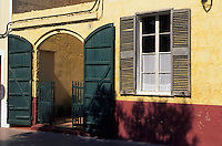 Europe/Espagne/Baléares/Minorque/Ciutadella : Façade placa de s'explanada