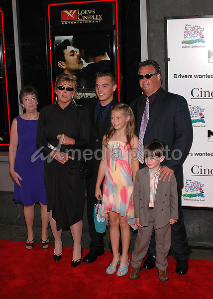 1June 2005 - New York, New York - The family of James J. Braddock arrives at the New York premiere of, &quot;Cinderella Man&quot; at the Loews Lincoln Square Theater. <br />