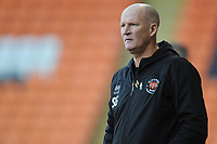Blackpool manager Simon Grayson <br /> <br /> Photographer Kevin Barnes/CameraSport<br /> <br /> Emirates FA Cup Second Round - Blackpool v Maidstone United - Sunday 1st December 2019 - Bloomfield Road - Blackpool<br />  <br /> World Copyright © 2019 CameraSport. All rights reserved. 43 Linden Ave. Countesthorpe. Leicester. England. LE8 5PG - Tel: +44 (0) 116 277 4147 - admin@camerasport.com - www.camerasport.com
