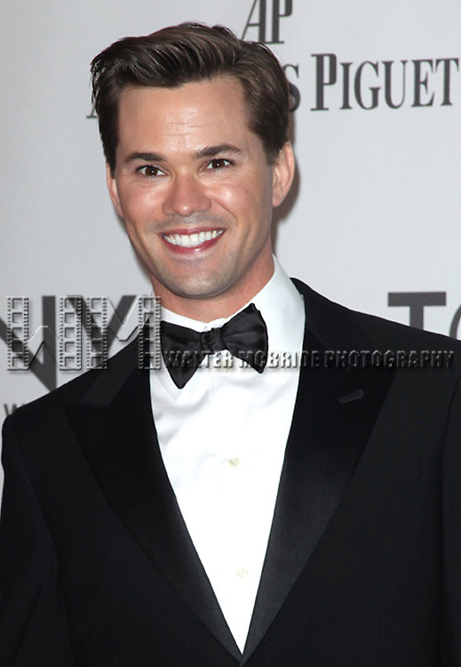 Andrew Rannells attending the  2011 Tony Awards at the Beacon Theatre in New York City © Walter McBride / WM Photography