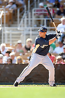 March 11,2009: Brad Nelson (27) of the Milwaukee Brewers at Camelback Ranch in Glendale, AZ.  Photo by: Chris Proctor/Four Seam Images