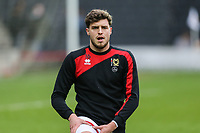 Robbie Muirhead of MK Dons warms up ahead of the Sky Bet League 1 match between MK Dons and AFC Wimbledon at stadium:mk, Milton Keynes, England on 13 January 2018. Photo by David Horn.