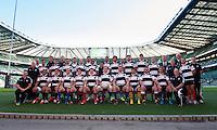 The Barbarians team photograph before the Killik Cup match between Barbarians and Australia at Twickenham Stadium on Saturday 1st November 2014 (Photo by Rob Munro)