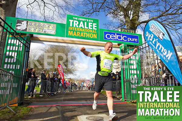1282 Noel Hilliard who took part in the Kerry's Eye, Tralee International Marathon on Saturday March 16th 2013.