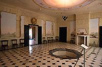 Italien, Elba, Aegyptischer Saal in der Villa San Martino
