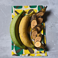 Gastronomie Générale/Banane plantain - Stylisme : Valérie LHOMME