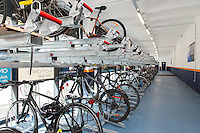 Nottingham Railway Station's new secure Cycle Hub