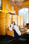 Eva Chow poses for a portrait in her home in Los Angeles, California October 19, 2015.