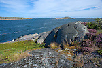 Sunny View of the Baltic Sea from a Rocky Promontory on the Island of Kökar
