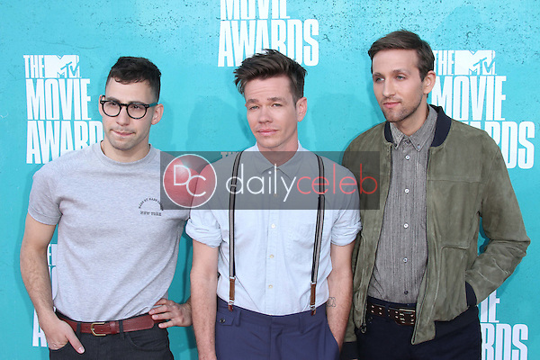 Jack Antonoff, Nate Ruess and Andrew Dos<br />