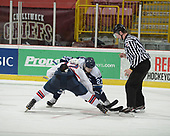 Chilliwack, BC - May 16 2018 - GAME 8 - Steinbach Pistons vs. Wenatchee Wild during the 2018 RBC Cup at the Prospera Centre in Chilliwack, British Columbia, Canada (Photo: Matthew Murnaghan/Hockey Canada)