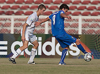 Eriq Zavaleta. Italy defeated the US Under-17 Men's National Team 2-1 in Kaduna, Nigera on November 4th, 2009.