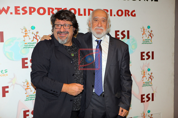 XIV Sopar Solidari de Nadal.<br /> Esport Solidari Internacional-ESI.<br /> Pep Sala & Josep Maldonado.