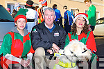 Sharon Ahern, Pat Foley and Bobby Fitzgerald with Angel at the Jingle 10 km run in aid of the Irish Council for the Blind in Killorglin on Saturday   Copyright Kerry's Eye 2008