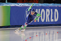 SPEED SKATING: STAVANGER: Sørmarka Arena, 31-01-2016, ISU World Cup, 500m Men Division A, Kai Verbij (NED), ©photo Martin de Jong