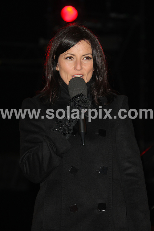 **ALL ROUND PICTURES FROM SOLARPIX.COM**.**WORLDWIDE SYNDICATION RIGHTS**.Celebrity Big Brother No. 7, first eviction night. Davina McCall presents the evictions..This pic:  Davina McCall.JOB REF:  10471   SKD       DATE:  16.01.10.**MUST CREDIT SOLARPIX.COM OR DOUBLE FEE WILL BE CHARGED**.**MUST NOTIFY SOLARPIX OF ONLINE USAGE**.**CALL US ON: +34 952 811 768 or LOW RATE FROM UK 0844 617 7637**