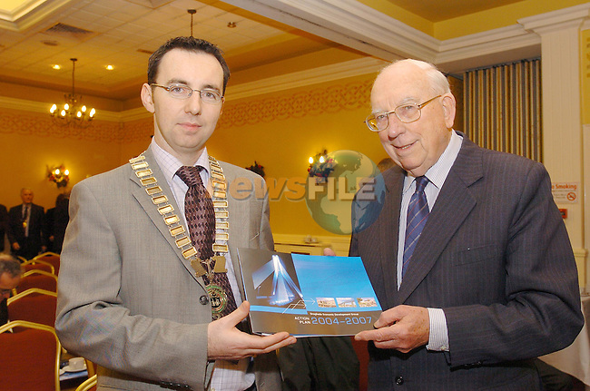 Chamber President Graham  at the launch of the Drogheda economic Development plan launch...Photo Fran Caffrey Newsfile.ie..This Picture has been sent to you by Newsfile Ltd..The Studio,.Millmount Abbey,.Drogheda,.Co. Meath,.Ireland..Tel: +353(0)41-9871240.Fax: +353(0)41-9871260.ISDN: +353(0)41-9871010.www.newsfile.ie..general email: pictures@newsfile.ie