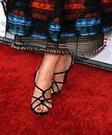 """Actress Debi Mazar 's shoes at The Los Angeles Premiere of """"Vicky Cristina Barcelona"""" at the Mann Village Theatre on August 4, 2008 in Westwood, California."""