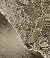 historical aerial photograph San Clemente, California, 1994