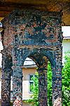 Bima, fragment po stojącej w tym miejscu starej synagodze, Tarnów, Polska<br /> Bima, a fragment of the old synagogue in Tarnów, Poland