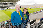 Jack and Ann McCarthy, Killarney pictured at the Kerry v Cork Munster Final held at Páirc Uí Chaoimh on Saturday evening last.​