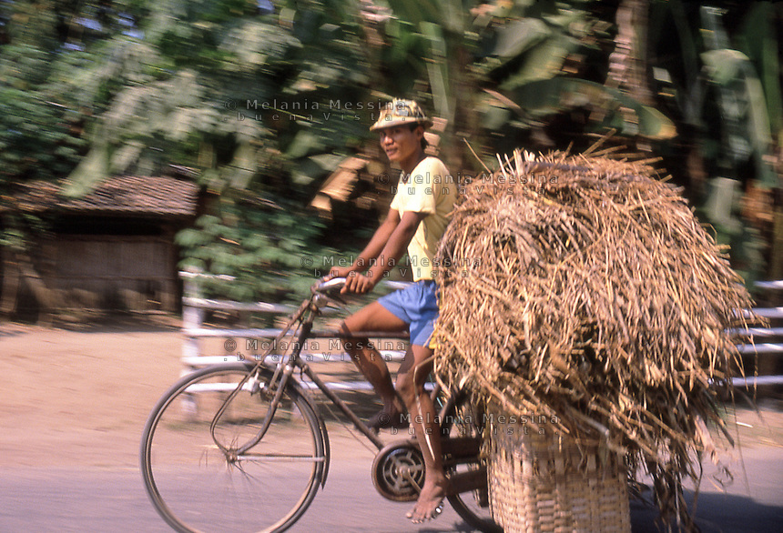 in the street of Yogyakarta.<br /> in strada a Yogyakarta