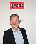WASHINGTON, DC - MAY 2: CEO of Netflix Reed Hasting attending the Google and Netflix party to celebrate White House Correspondents' Dinner on May 2, 2014 in Washington, DC. Photo Credit: Morris Melvin / Retna Ltd.