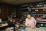 "Sara Wright is 88-years-old, and owns a baseball card shop in Cornelia, Georgia. She opened the shop in 1990 and though she said baseball card collectors have largely been replaced by Magic card collectors, she still opens her shop every week. ""I tell ya, it's harder to get out of business than it is to get in business,"" she said in her shop June 22, 2013."