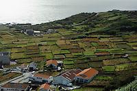 Vila Nova do Corvo auf der Insel Corvo, Azoren, Portugal
