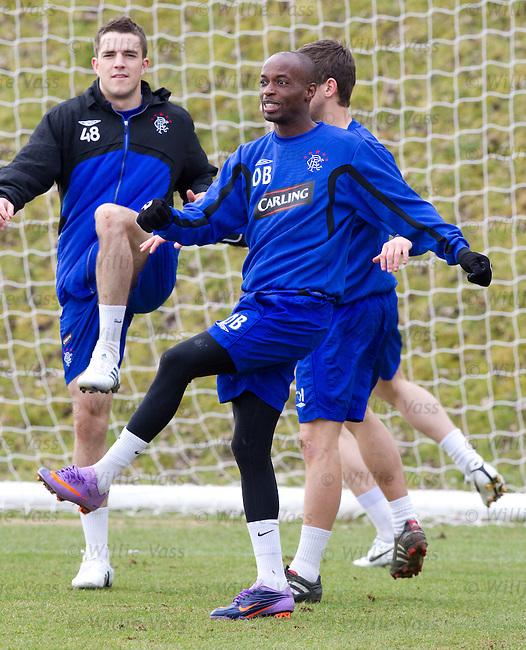 DaMarcus Beasley at training