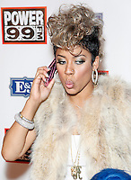 PHILADELPHIA, PA - OCTOBER 26 :  Keyshia Cole pictured backstage at Powerhouse 30 at the Wells Fargo Center in Philadelphia, Pa on October 26, 2012  © Star Shooter / MediaPunch Inc /NortePhoto