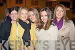 Susan McGillycuddy, Mary O'Suullivan, Norma Hickey, Caroline Flahive and Kay Cronin at the reopening of Revelles in aid of Cystic Fibrosis on Saturday night.   Copyright Kerry's Eye 2008