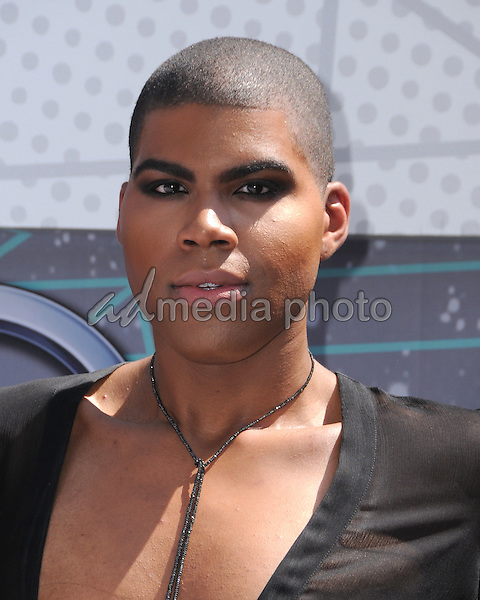 26 June 2016 - Los Angeles. EJ Johnson. Arrivals for the 2016 BET Awards held at the Microsoft Theater. Photo Credit: Birdie Thompson/AdMedia