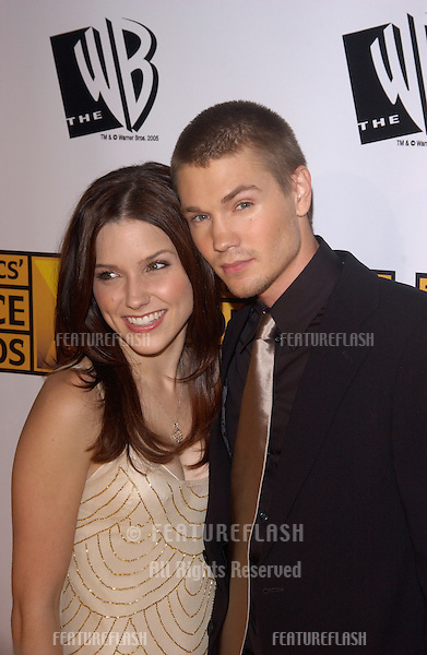 Jan 10, 2005; Los Angeles, CA:  Actor CHAD MICHAEL MURRAY & wife actress SOPHIA BUSH at the 10th Annual Critcs' Choice Awards at the Wiltern Theatre, Los Angeles.
