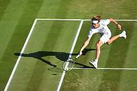 Alexander Zverev (TGer)<br /> Wimbledon 07-07-2018 Roland Garros <br /> Tennis Grande Slam 2018 <br /> Foto Panoramic / Insidefoto <br /> ITALY ONLY