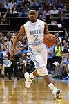 30 December 2014: North Carolina's Joel Berry II. The University of North Carolina Tar Heels played the College of William & Mary Tribe in an NCAA Division I Men's basketball game at the Dean E. Smith Center in Chapel Hill, North Carolina. UNC won the game 86-64.