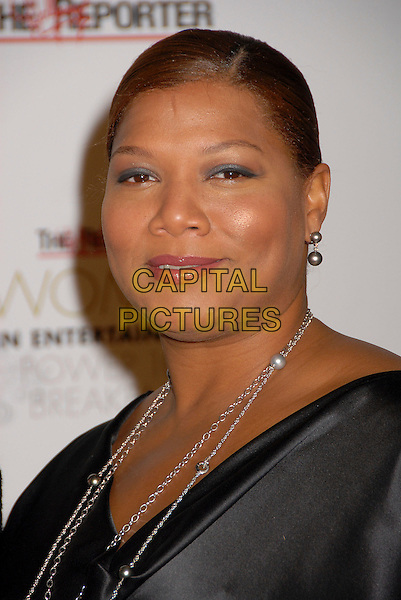 QUEEN LATIFAH.Hollywood Reporter Women in Entertainment Power 100 Breakfast at the Beverly Hills Hotel, Beverly Hills, California, USA, 4 December 2007..portrait headshot.CAP/ADM/BP.©Byron Purvis/AdMedia/Capital Pictures.