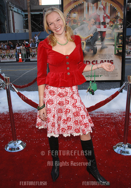 "Abby Brammell at the Los Angeles premiere of ""Fred Claus"" at Grauman's Chinese Theatre, Hollywood, CA..November 3, 2007  Los Angeles, CA.Picture: Paul Smith / Featureflash"