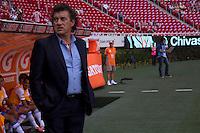 GUADALAJARA,JAL. AUGUST 18, 2013.  General view during the game of Liga MX between Chivas against Puebla at Omnilife Stadium. // Vista General durante el juego  de La Liga MX entre Chivas vs Atlante  en el Estadio Omnilife. <br /> PHOTOS: NORTEPHOTO/GERMAN QUINTANA**CRÉDITO OBLIGATORIO** **USO EDITORIAL** **NO VENTAS** **NO ARCHIVO**