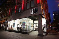 Montreal (QC) CANADA - July 25, 2012 - BEDO<br /> Retail store on Sainte-Catherine Street in downtown Montreal.