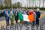 CBS The Green Proclamation Day celebrations on Tuesday. Tim Horgan,  Ruairi O' Sullivan Leanne McCarthy,  Tadhg Horgan Colm Griffin, Johnny Sheehan, Anne O'Callaghan, Principal Cian Carney, Ryle Dwyer