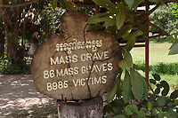 Cambodia - 2007 File Photo -<br /> <br /> Cambodia, Killing fields, Choeung Ek. memorial site. <br /> <br /> were a number of sites in Cambodia where large numbers of people were killed and buried by the Communist regime Khmer Rouge, which had ruled the country since 1975. The massacres ended in 1979, when Communist Vietnam invaded the country, which at that time was officially called Democratic Kampuchea, and toppled the Khmer Rouge regime. Estimates of the number of dead range from 1.7 to 2.3 million out of a population of around 7 million.<br /> <br /> <br /> photo : James Wong-  Images Distribution